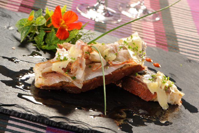 Toast de Sardines